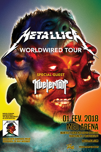 Cartaz Metallica 2018